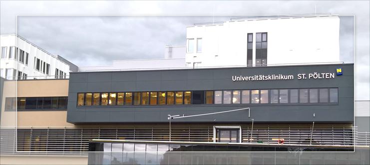 Universitätsklinikum St. Pölten in Pölten, Österreich
