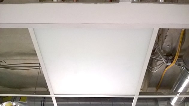 Infrarot-Glasheizung Deckeneinbau