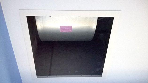 Infrarotheizung aus Glas im AKH Celle